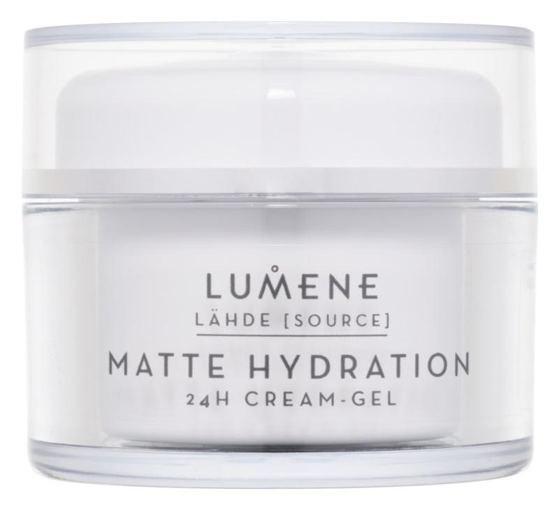 Lumene Lähde [Source of Hydratation] matující hydratační krém - gel 24h